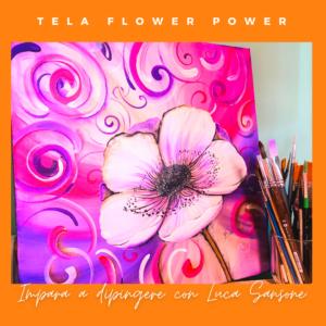 corso di pittura con i colori acrilici online con Luca Sansone