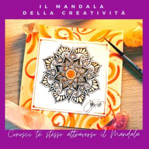 Laboratorio di Mandala online con Luca Sansone